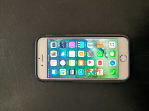 Apple iPhone 6 64GB silver unlocked neat condition