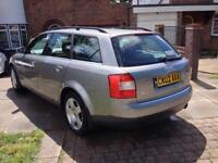 Audi A4 Avant Estate 2.4 V6 *2 previous keepers* 2002 * Long Mot * Low miles *