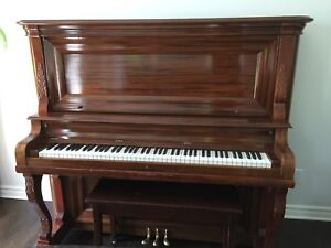 Antique piano