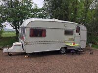 Vintage Buccaneer 3/4 berth caravan