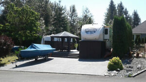 Lot and RV for Sale