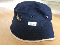 Kids Denim sunhat for toddler age