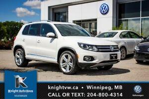 2013 Volkswagen Tiguan Highline R Line 0.99% Financing Available