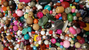 HUGE COLLECTION OF THOUSANDS OF BEADS