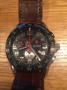Swiss army chronograph watch - great condition