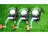 3 x DAIWA ISO 5500 TOURNAMENT FISHING REELS