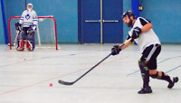 Sunday ball hockey