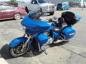 2013 Victory Cross Country Tour - Like new - Consignment no GST!