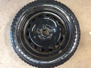 Volkswagen winter tires, rims and mats