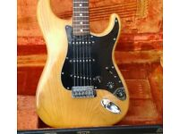 1979 Fender Stratocaster - Natural Finish with Rosewood Fretboard