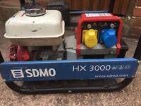 HDMO HX 3000 115/230V Generator used condition starts runs and has had a recent service