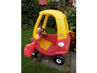 Little Tykes Coupe Kiddy Car