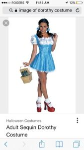 Women's Dorothy costume and wig