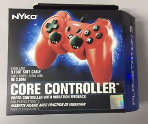 NYKO Core Controller Red (PS3 style). New Price!