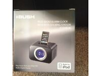 Bush iPod Alarm clock docking station (new)