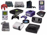 WANTED ALL OLD VIDEO GAMES AND CONSOLES INC SEGA ,NINTENDO,PLAYSTATION,XBOX,ATARI,