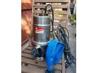 Dirty water pump 9600ltr/hr