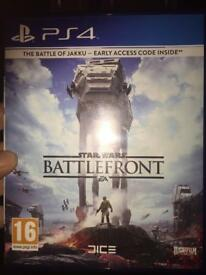 BATTLEFRONT PS4 STAR WARS GAME MINT CONDITION