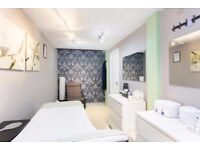 Beauty Room for rent & Nail space area. Part of busy, experienced, high-end hairdresser salon LONDON