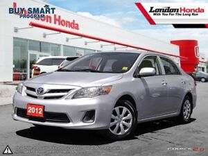 2012 Toyota Corolla *VERY LOW MILEAGE* Will not last! Call to...