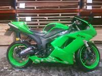 For sale Kawasaki zx6r 2008 57plate