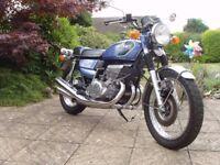 Suzuki GT550k 1973 stunning condition ONLY 6200 miles