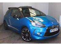 2016 Citroen DS3 1.6 THP DSport 2 door Petrol Convertible