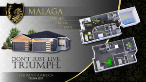 LEDUC BUNGALOW DUPLEX'S- LUXURY ADULT LIVING STARTING AT 450K!!!