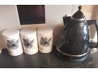 Kettle and Cannisters