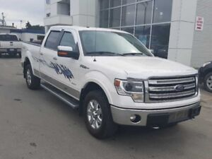 2014 Ford F-150 4X4-SUPERCREW LARIAT-157 WB   - $259.95 B/W