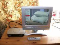LG Flatron....14ins Silver LCD ....TV