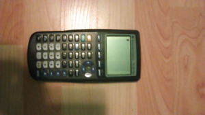 TI 83 plus graphing calculater