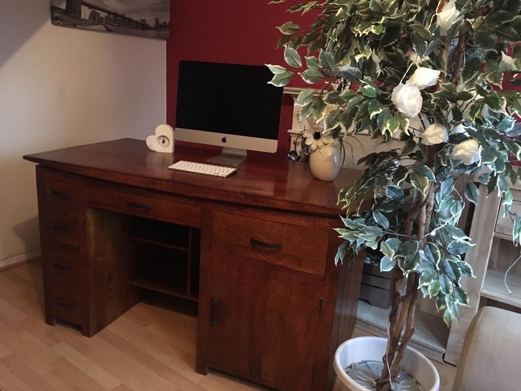 oak furniture land desk in tamworth staffordshire gumtree. Black Bedroom Furniture Sets. Home Design Ideas