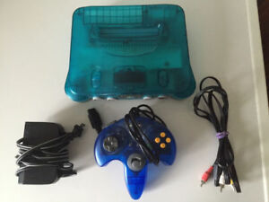 Ice Blue Nintendo 64 Sale or Trade