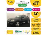 BMW X6 FROM £72 PER WEEK!