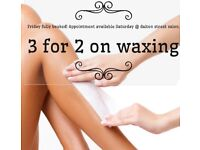 Specialist waxing therapist Manchester City centre