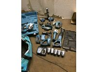 Makita 18v set tools