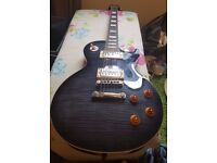 Epiphone Les Paul Standard Plustop Pro Electric Guitar Limited Edition 2014 Model