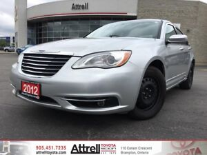 2012 Chrysler 200 Touring. Keyless Entry, Navigation, Heated Sea