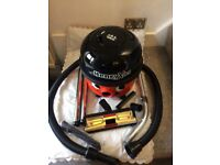 Henry 1200W new accessories 1 year. Guarantee