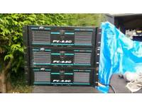 1100W power amps (2 channel) - £120 each