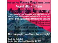 Woodbridge Amazons Women's Rugby Taster Session