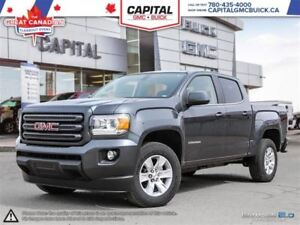 2016 GMC Canyon Crew Cab 4WD SLE REMOTE START REAR CAMERA 6K KMS