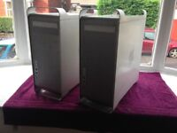 2 x Apple Mac Pro A1186 towers. For Parts Only.