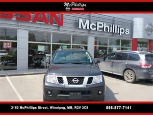 2013 NISSAN FRONTIER 4X4 CREW CAB PRO-4X AT