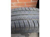 Vauxhall 4 stud wheel and tyre 175/65/14 new