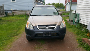 2002 CRV Parts or Repair Car Runs and Drives