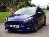 FORD FOCUS 2.0 TDCi ST-3 Hatchback 5dr (start/stop) FREE DELI (blue) 2015