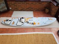 Windsurf Board - Fanatic Freewave 95