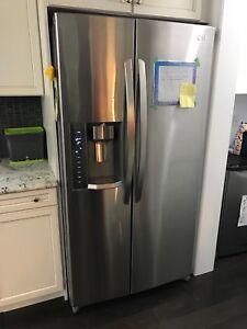 LG fridge/freezer LSC24971ST/00